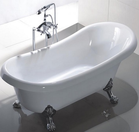 Manhattan 63  Acrylic Freestanding Tub MTD MAN from Clawfoot Tubs Pros And Cons For Your Bathroom Remodel