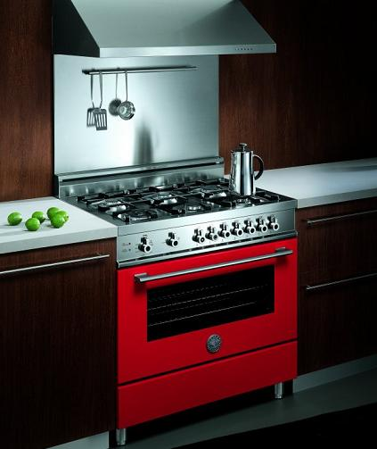Pro-Style Dual-Fuel Range From Bertazzoni