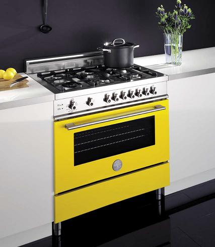 Pro Style Range With European Convection Oven From Bertazzoni