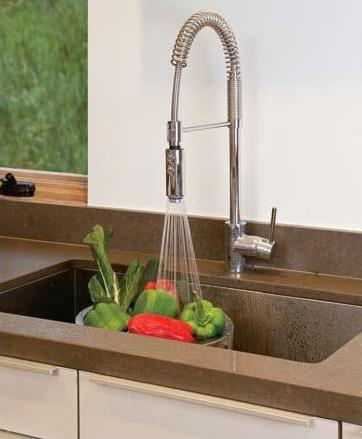 Delightful Architectural Professional Pulldown Kitchen Faucet From Rohl