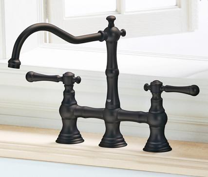 Bridgeford Double Handle Kitchen Faucet From Grohe