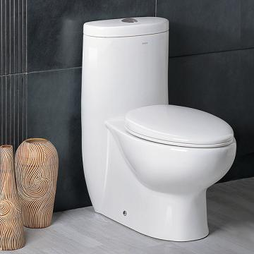 Platinum European Dual Flush Toilet From Ariel
