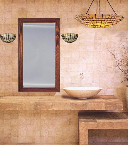 Quartz Stone Mosaic Wall Sconces And Pendant Light
