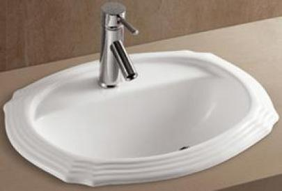 Top Mount Decorative Porcelain Sink From AmeriSink
