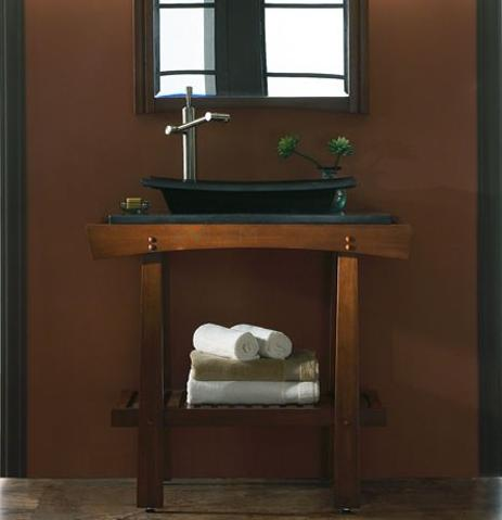 Ka Bathroom Vanity In Cherry Cola From Xylem