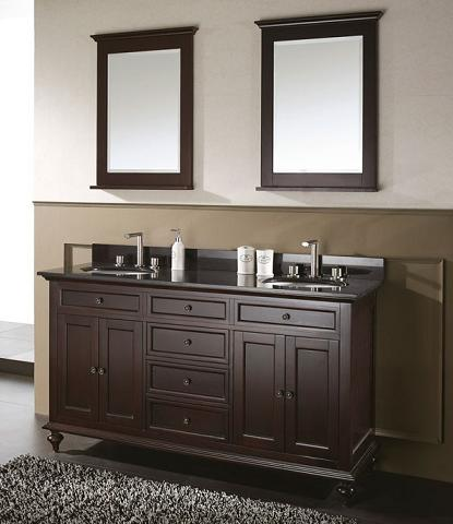 Merlot Transitional Bathroom Vanity From Avanity
