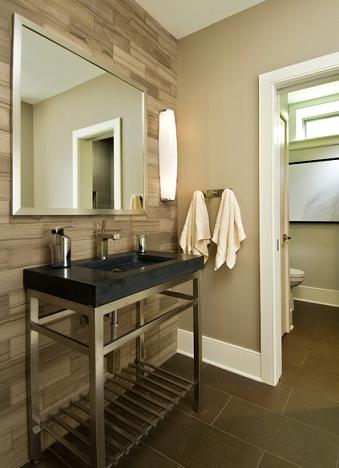 Tile Accent Wall (by Witt Construction, photo by Randall Perry Photography)