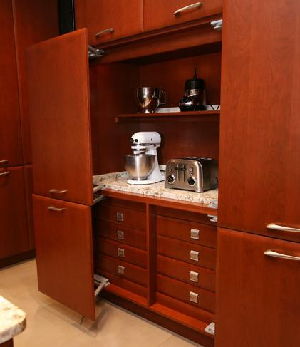 storage appliance plywood black kitchen leather stained oven laminated white cabinets cabinet counter wooden shelf