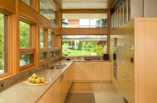 Bamboo Kitchen Cabinetry By Coates Design Architects