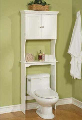 Dexter Space Saving Over Toilet Cabinet From Carolina Accents