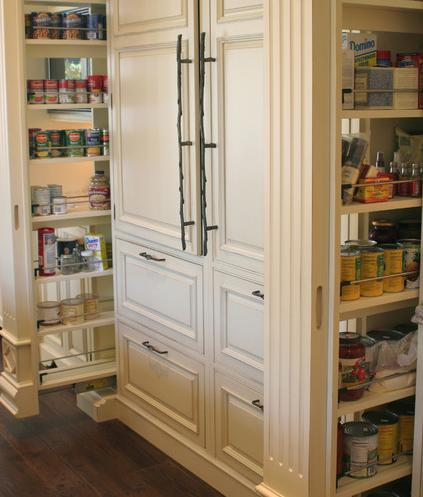 Dual Pull Out Pantries By Rob Kane Of Kitchen Interiors Inc