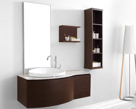 bella modern bathroom vanity set 71 huntington contemporary with side cabinet and shelf from italian