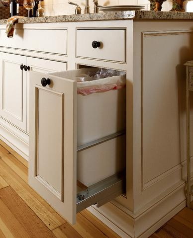Pull Out Cabinets Are Amazingly Versatile (by Showplace Wood Products)