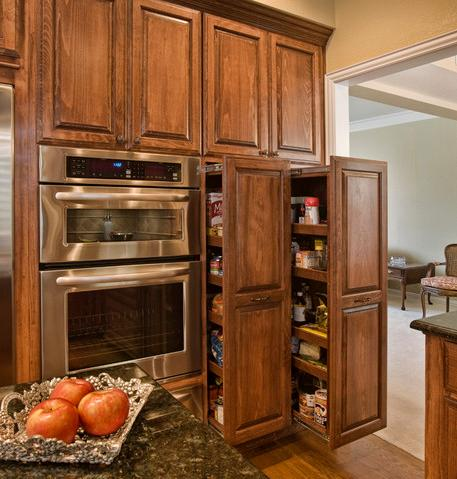 Delightful Pull Out Style Pantries (by Curb Appeal Renovations)