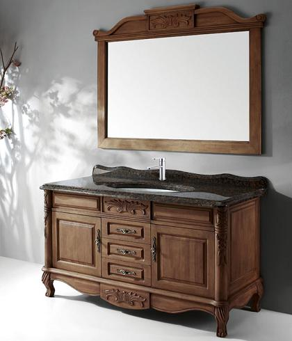 Teak Traditional Bathroom Vanity Set With Mirror From Legion Furniture. Traditional Bathroom Vanity Sets   An Easy Way To Get A