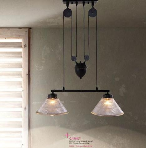 Garnet Industrial Pendant Light From Zuo Modern