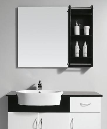 Offset Storage Mirror From Legion Furniture