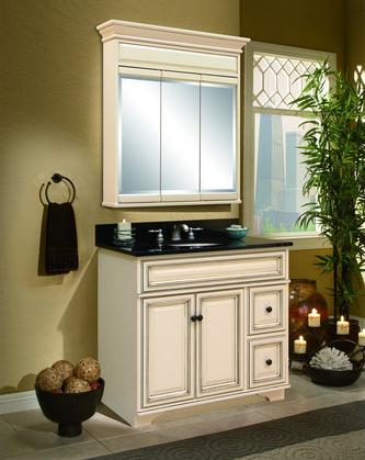 Sanibel Antique Bathroom Vanity From SunnyWood