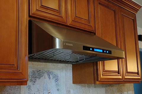Undercabinet Range Hood With LED Touch Display From XtremeAir