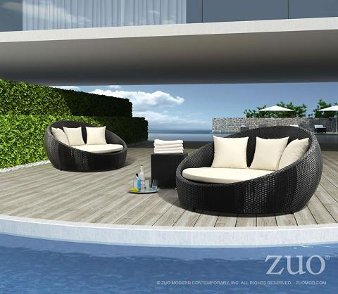Anjuna Outdoor Bed From Zuo Modern