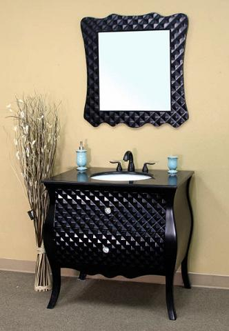 Black Modern Bathroom Vanity From Bellaterra Home