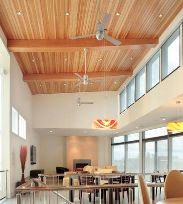 In A Room With Very High Ceilings, A Ceiling Fan Can Be Challenging To Clean (by Bruce D. Nagel)