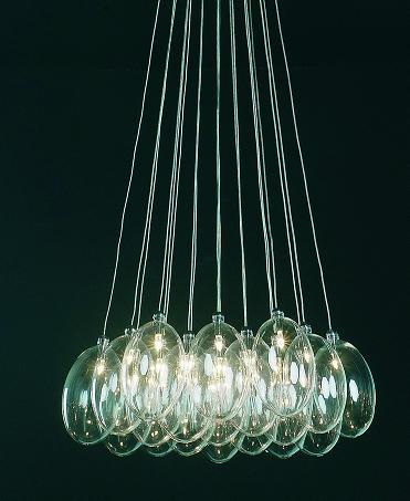Cluster pendant lights a modern twist on exposed bulb lighting karma cluster pendant light from nuevo living aloadofball Gallery