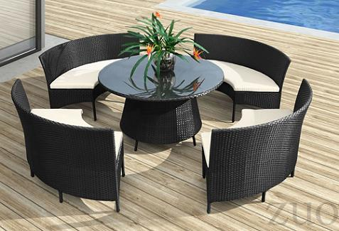 La Barrosa Table Set From Zuo Modern