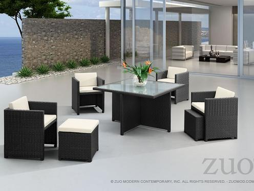 Naples Table Set From Zuo Modern