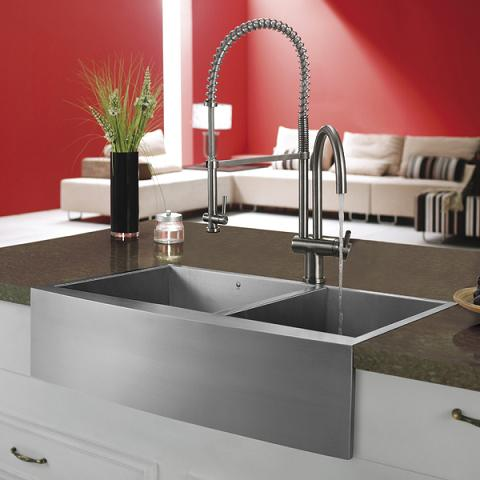 Why Kitchen Faucets Are Worth The Splurge For Your Next Kitchen Remodel - Bathroom sink spigots