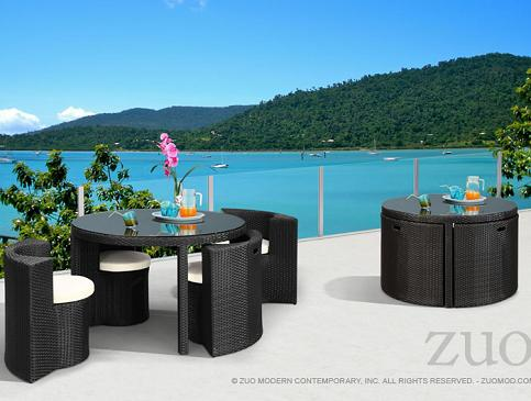 High Quality Tarfia Table Set From Zuo Modern