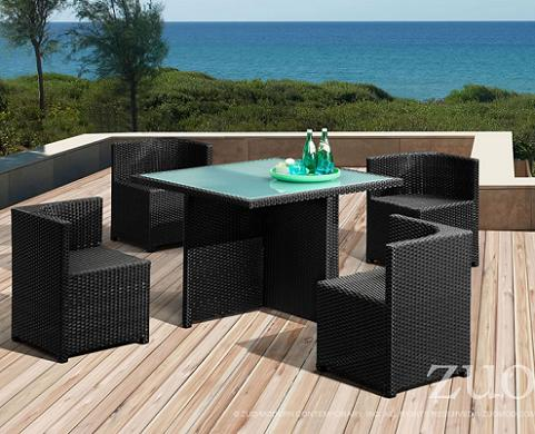 Turtle Beach Table Set From Zuo Modern