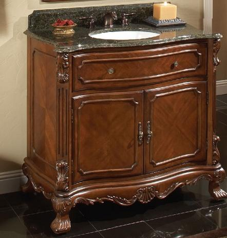 barrister antique bathroom vanity from sagehill designs