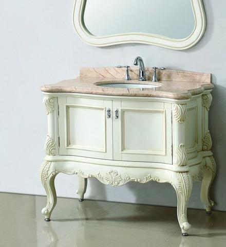 Clic White Bathroom Vanity From Legion Furniture