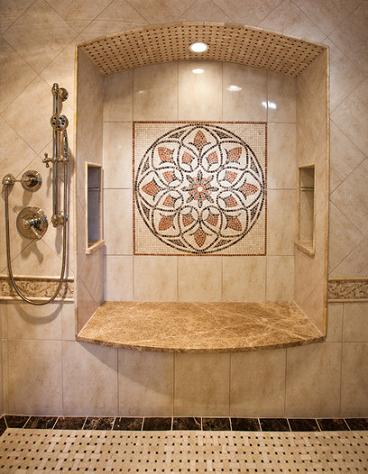 Floor Medallions Work Well On The Wall Too And Can Be Much More Visible In