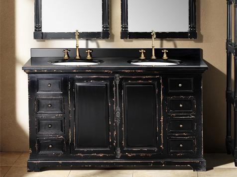 DealsIdeasWeathered Bathroom Vanities For A Shabby Chic