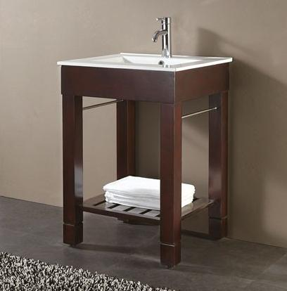 open bathroom vanities: a sleek, simple style for a modern bathroom