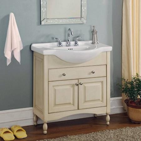 Windsor 30 Inch White Vanity From Empire Industries