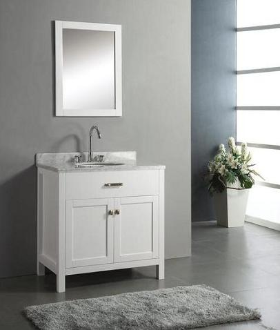 Caroline 36 Inch Bathroom Vanity From Virtu USA