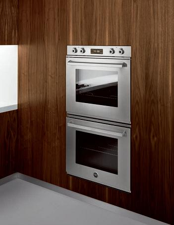 double electric wall oven from bertazzoni - Electric Wall Oven