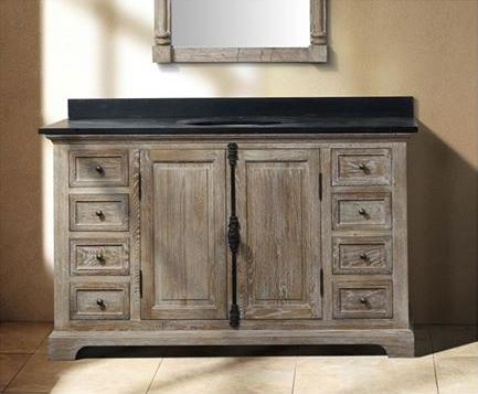 hot trends in bathroom vanities part  natural wood vanities, Bathroom decor