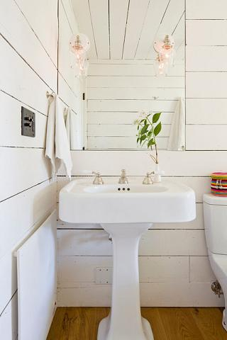 The Hottest New Trend In Bathroom Design Is... Wood? on fiberglass bathroom, boat bathroom, wood slab bathroom, old english bathroom, flagstone bathroom, cement bathroom, granite bathroom, brick bathroom, water bathroom, stone bathroom, wood floor bathroom, gold bathroom, saw bathroom, wood beam bathroom, metal bathroom, porcelain bathroom, wood paneling bathroom, wood wall bathroom, carpet bathroom, pig bathroom,