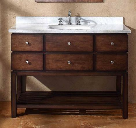 Moria Single Wood Bathroom Vanity From James Martin
