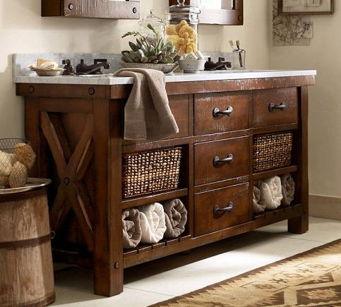 Benchwright Double Sink Console From Pottery Barn