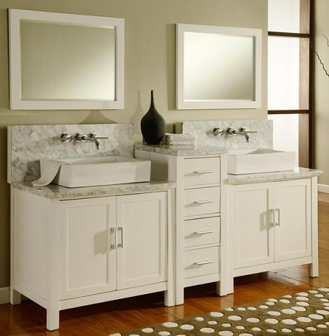 Horizon Double Wall Mount Faucet Ready Vanity From Direct Vanity