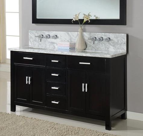 Hutton Double Wall Mount Ready Vanity From Direct Vanity