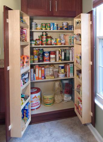 If You Can't Make Your Cabinets Look New, Make Them Work Better With Quality Built In Storage Options (by Case Design Remodeling Inc.)