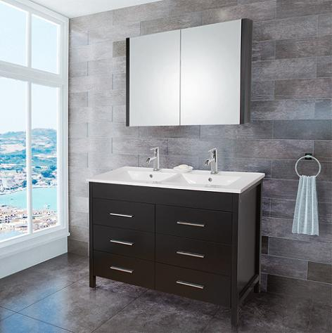Maxine Double Bathroom Vanity From Vigo Industries
