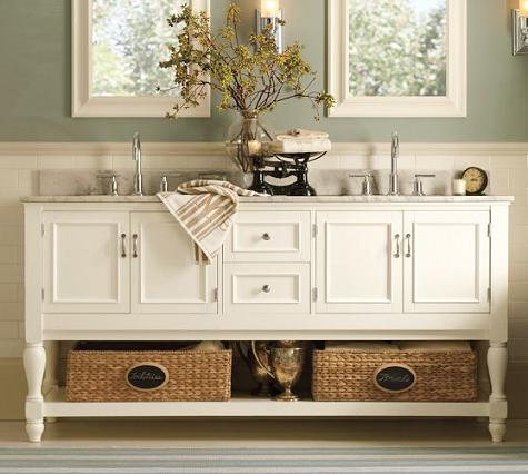 Delicieux Newport Double Sink Console From Pottery Barn