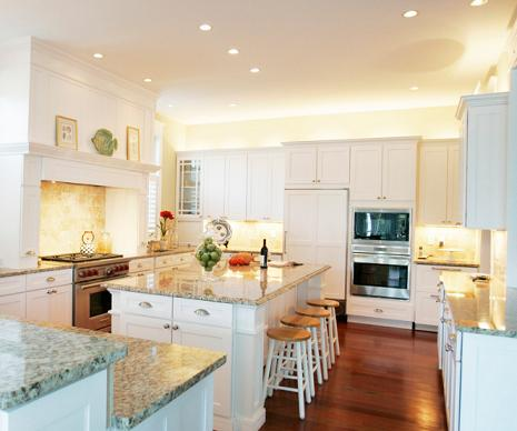 Undercabinet Lighting Is Affordable And Easy To Install, But Can Instantly Make Your Home Feel Brighter And More Open (by Echelon Custom Homes)